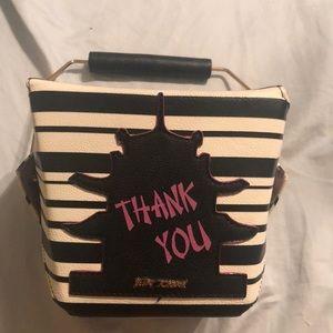 Betsy Johnson Takeout Box Crossbody